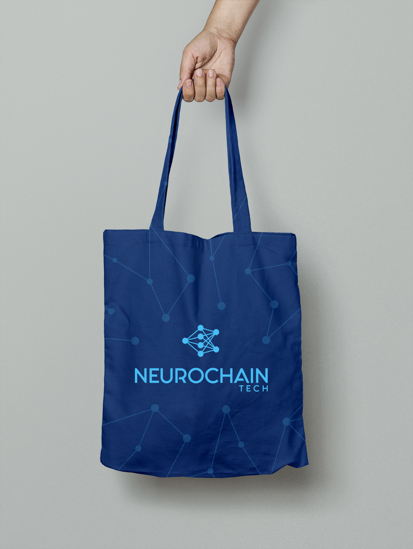 NeuroChain ecobag design
