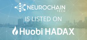 NeuroChain Exchange Huobi HADAX