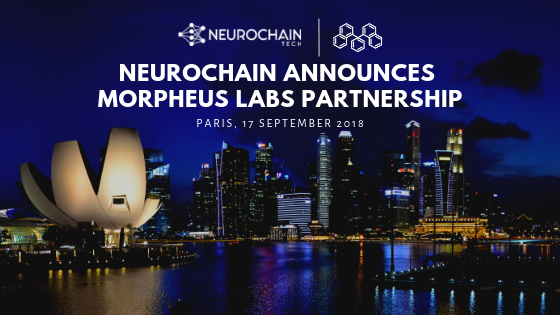 NeuroChain Announces Morpheus Labs Partnership