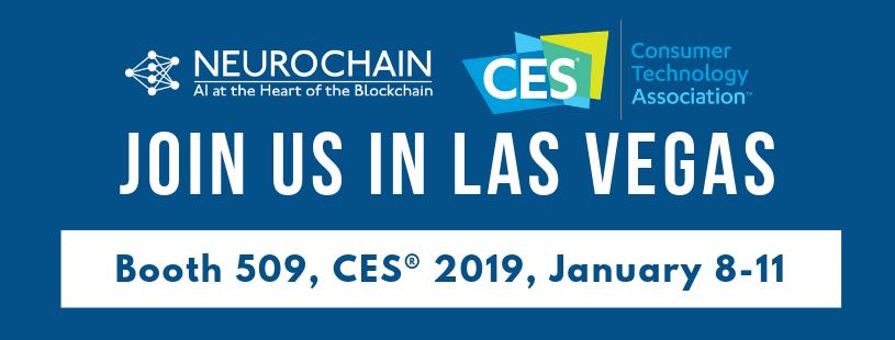 NeuroChain CES 2019 Las Vegas