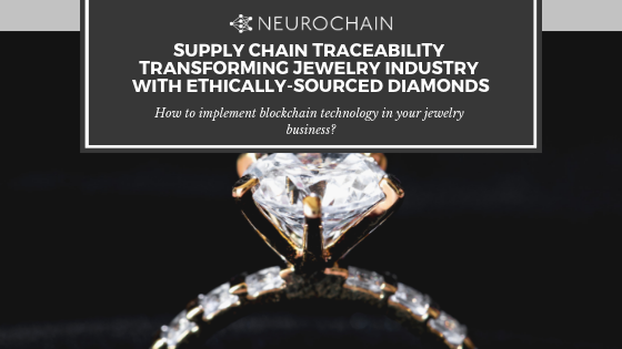 NeuroChain jewelry traceability
