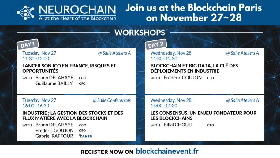 Join us at the Blockchain Paris on November 27_28