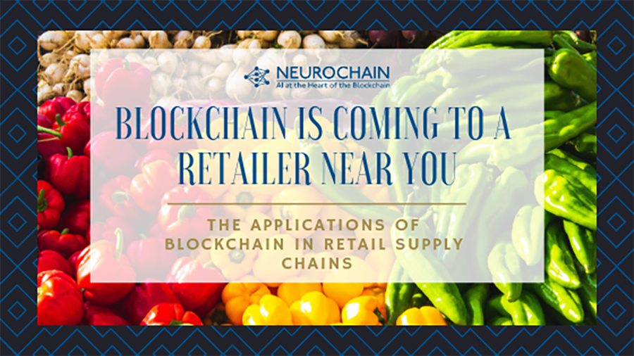 NeuroChain retail supply chain